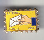 RARE PINS PIN'S .. PTT LA POSTE TIMBRE STAMP 92 JUZIERS 78 ~BT