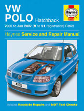 Haynes Manual 4150 Volkswagen Vw Polo 1.0 e 1,4 e se Match 2000-2002