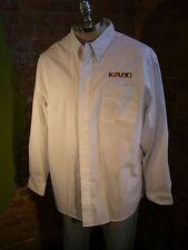 Kolpin Sporting Goods Embroidered White Dress/Casual Shirt XL Hunting Fishing