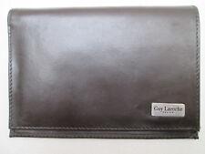 -AUTHENTIQUE portefeuille/porte-monnaie  GUY LAROCHE cuir  TBEG vintage