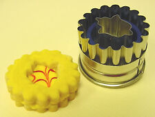 Kaiser Bakeware Linzer Fluted Bell Cookie Cutter, Tinned Steel