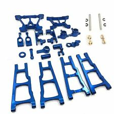 For Traxxas Slash 4X4 1/10 RC Car Metal Aluminum Front Rear Axle Upgraded Set