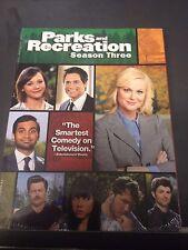 Parks and Recreation: Season Three (DVD, 2011, 3-Disc Set)