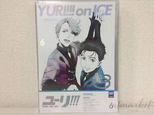 Yuri on Ice Vol.6 First Limited Edition DVD Booklet Coloring Book Japan F/S New!