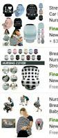 Nursing, Breastfeeding infants Baby Scarf Car Seat Stroller Stretchin Cover
