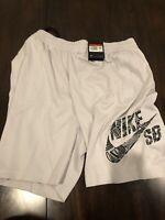 New Nike Skateboarding Sunday Shorts SB Dri-Fit Grey Men's Size L CK5119-063