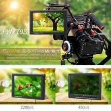 "FW279S Monitor 7"" 2200nit Viewable 3G-SDI Mini HDMI on Camera DSLR Field Monitor"
