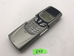 Nokia 8850 - Silver (Unlocked) Cellular Phone Aj675
