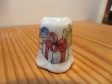 Porzellan-Fingerhüte mit Weihnachten-Fingerhüte