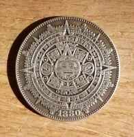 Aztec Sun Poker Card Guard Protector UK