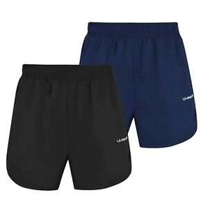 Ladies LA Gear Lightweight Breathable Stylish Woven Shorts Sizes from 8 to 16
