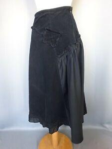 """Pretty Skirt Bohemian """" Chassé croisé """" Velvet Corduroy Size: S FR36 US4 UK8"""