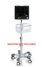 Rolling Roll mobile stand for Mindray Datascope Passport 8 monitor big wheel USA