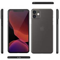 iPhone 12 Full Back Cover Hardcase ultra thin 0,35mm Case Hülle extrem dünn Etui
