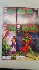 She-Hulks - Issues #1 #2 #3 #4 Complete - Marvel Comics - 2010