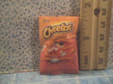 Barbie 1:6 Kitchen Food Miniature Bag of Cheetos Chips
