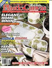 AND MORE PLASTIC CANVAS MAGAZINE JUNE 1993 ~ ELEGANT HOME DINING