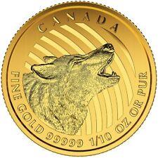 Kanada 20 Dollar Gold Wolf 2015 Goldmünze Call of the Wild im Blister