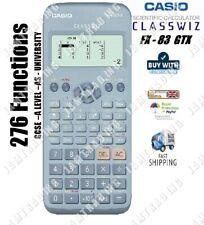 Casio FX-83 GTX CLASSWIZ Scientific Calculator 276 Functions - BLUE