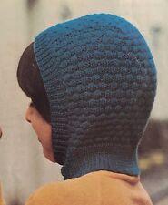 FCg4 - Knitting Pattern - 4-ply Kids Wooly Balaclava Helmet Hat - Children's