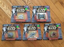 LOT OF 5, GALOOB (1997) STAR WARS, MICRO MACHINES, DIE-CAST METAL VEHICLES 66260