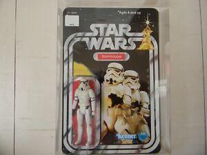KENNER figurine Star wars STORMTROOPER 1977 recarded recard