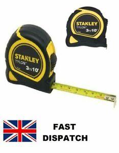 Stanley STA130686N Tylon Pocket Tape Measure 3m / 10ft Thumb Lock Belt Clip