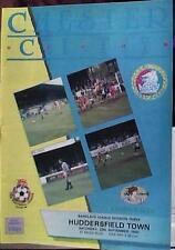 Chester City V Huddersfield Town 90-91 de la Liga Match