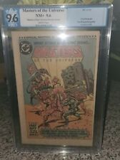Masters of the Universe MOTU Special Preview Insert #NN PGX NOT CGC 9.6 1982