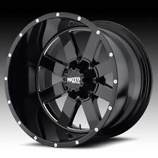 "5 MOTO METAL 20x12 MO962 RIMS and 5 Nitto 35"" Trail Grappler Tires Jeep JK 5x127"
