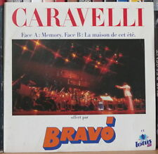 """CARAVELLI MEMORY 45t 7"""" FRENCH SP"""