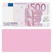 100X 500 Euro Premium Spielgeld 119 x 60 mm Geld Banknoten Geldschein Money 75%