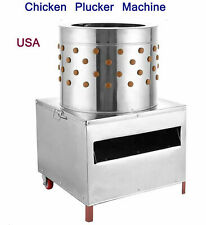 Chicken Plucker Machine Poultry Bantams Defeather Feather Plucking 110v Farm