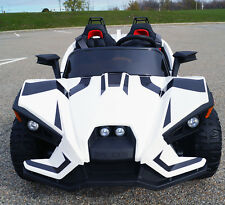 Polaris Slingshot Style Kids Ride on Battery Powered Electric Car with RC