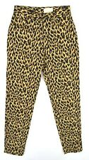 CACHE Women's Leopard Cheetah Print Colored Skinny Jeans ~ Sz 8 ~ NWT