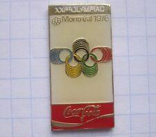 COCA-COLA / OLYMPISCHE SPIELE MONTREAL 1976  ... Sport Pin (134e)