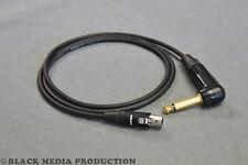 Adapterkabel 4-pol Mini-XLR (RT4FC-B) - Winkel-Klinke | 0,5m für Shure TA4M*NEU*