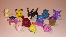 Pokemon Sammelfiguren 12 Stück verschiedene Neu und Originalverpackt
