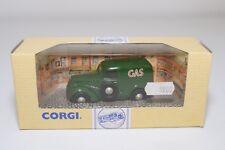 * CORGI TOYS 96866 FORD POPULAR VAN GAS GREEN MINT BOXED