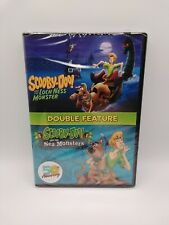 Scooby-Doo And The Loch Ness Monster/Sea Monsters Dbl Feature Dvd Sealed Brand