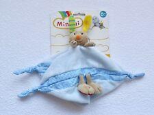 Mantita conejo Minimi minitoys schnuffeltuch Comfort-nuevo & multicolor *