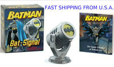 DC Comics Batman Bat Signal Kits Books Mega Mini Light Up Projection Toy ❶USA❶