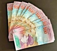 VENEZUELA 100 BOLIVARES 2018 P NEW BUNDLE 10 PCS UNC condition