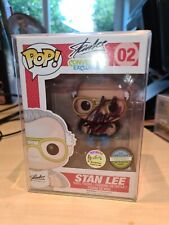 Funko Pop Signed autógrafo Stan Lee 02 Convención Exclusiva Sdcc Grial!