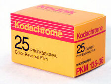 Kodachrome 135-36 - 35MM - 25 ASA Kodak collectible film MIB