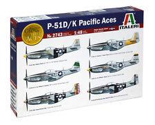 Italeri 1:48 - 2743: Mustang P-51D/K Pacific Aces - Bausatz - NEU + OVP