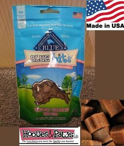 NATURAL Blue Buffalo Dog Training Treats Healthy Salmon Bits MADE IN USA