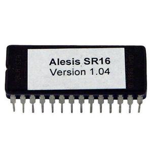 Alesis SR16 Firmware Upgrade OS V1.04 Final Update Sr-16 Eprom