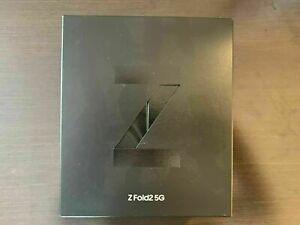 Samsung Galaxy Z Fold2 5G SM-F916W - 256GB - Mystic Black (Unlocked) (CA)