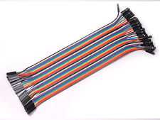 40pcs 20cm Dupont Female to Female Breadboard Jumper Wire Raspberry Pi Arduino